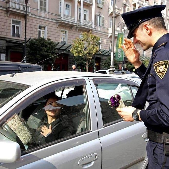 Всё о штрафах на дороге в Грузии