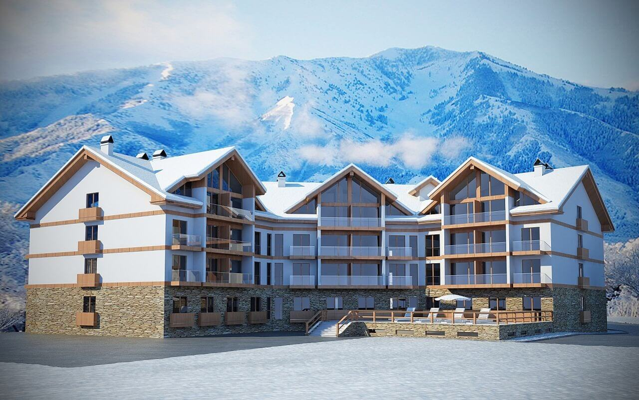 Best offer for apartment owners in New Gudauri!